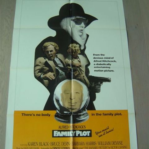 'Family Plot' 1976 U.S. one-sheet