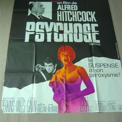 'Psychose' (Psycho) 120-160 (French)