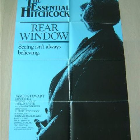 'The Essential Hitchcock - Rear Windows' One sheet