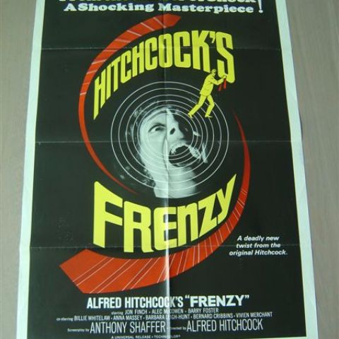 'Frenzy' 1962 U.S. one-sheet