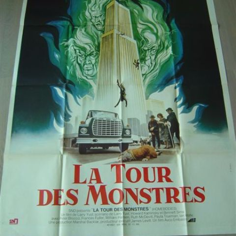 'La tour des monstres' (Homebodies) (director Larry Yust) 120-160 (French)