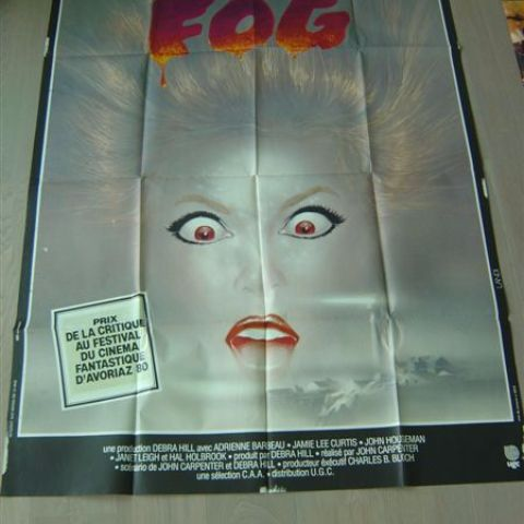 'Fog' (director Jogn Carpanter) 120-160 (French)