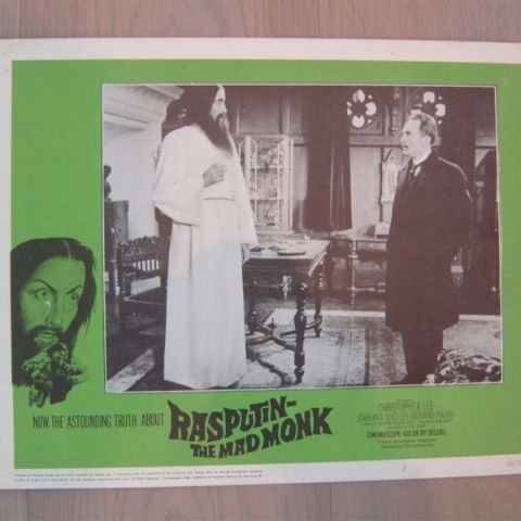 'Rasputin-the mad monk' (C. Lee) (Original U.S. lobby-still 1)