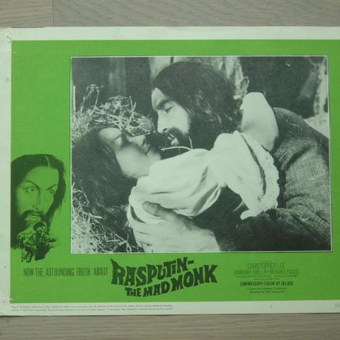'Rasputin-the mad monk' (C. Lee) (Original U.S. lobby-still 2)