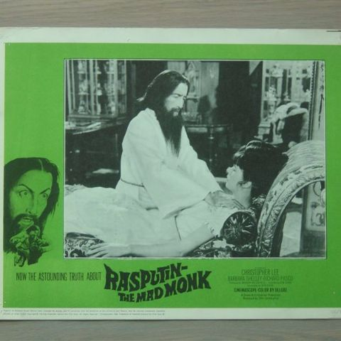 'Rasputin-the mad monk' (C. Lee) (Original U.S. lobby-still 3)