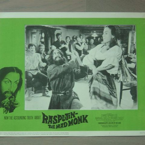 'Rasputin-the mad monk' (C. Lee) (Original U.S. lobby-still 5)