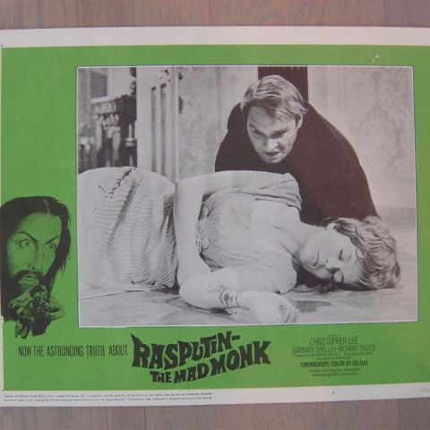 'Rasputin-the mad monk' (C. Lee) (Original U.S. lobby-still 6)